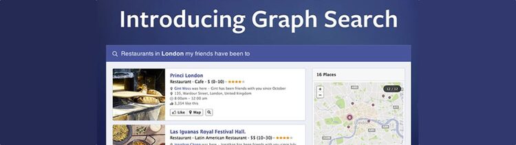 Image of Facebook graph search