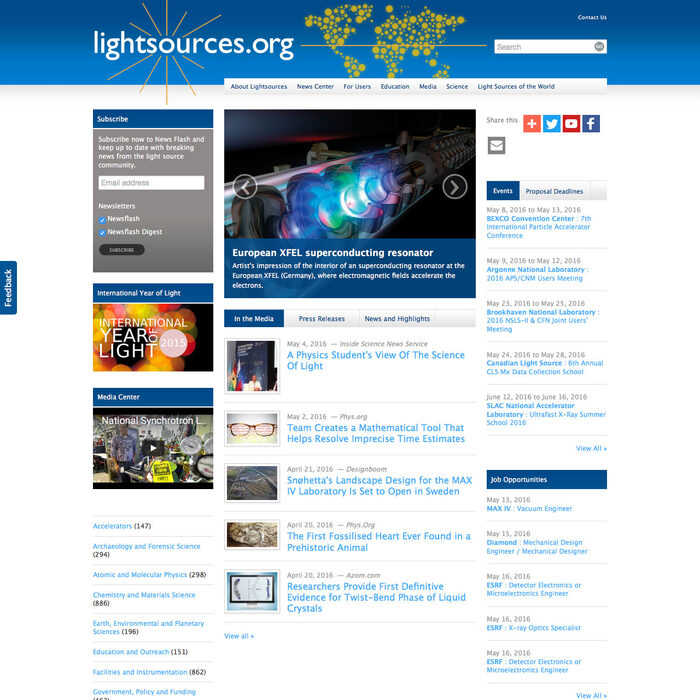 Screenshot of Lightsources